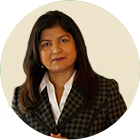 HK & CO - Our People. Picture of Farzana Jamal, B.COM