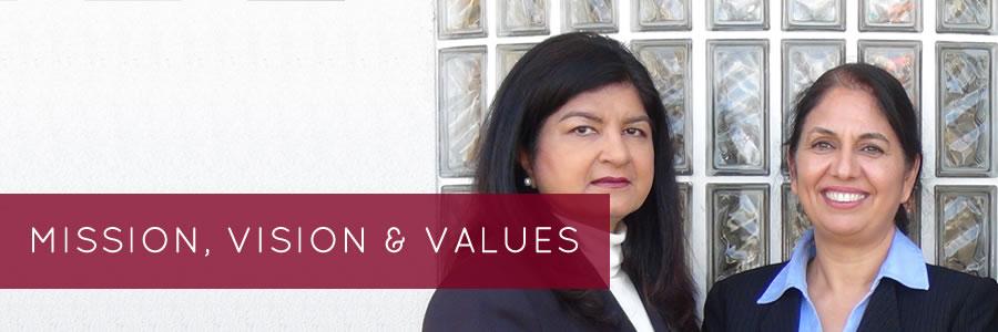 Harold Karro & Company mission vision and values